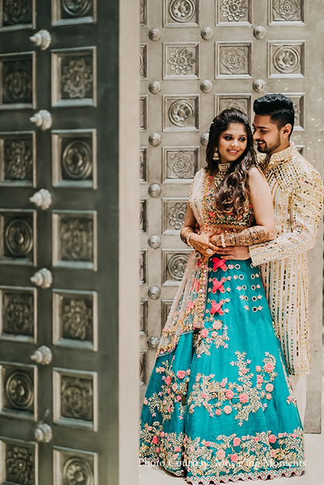 Bride & Groom Mehndi Look