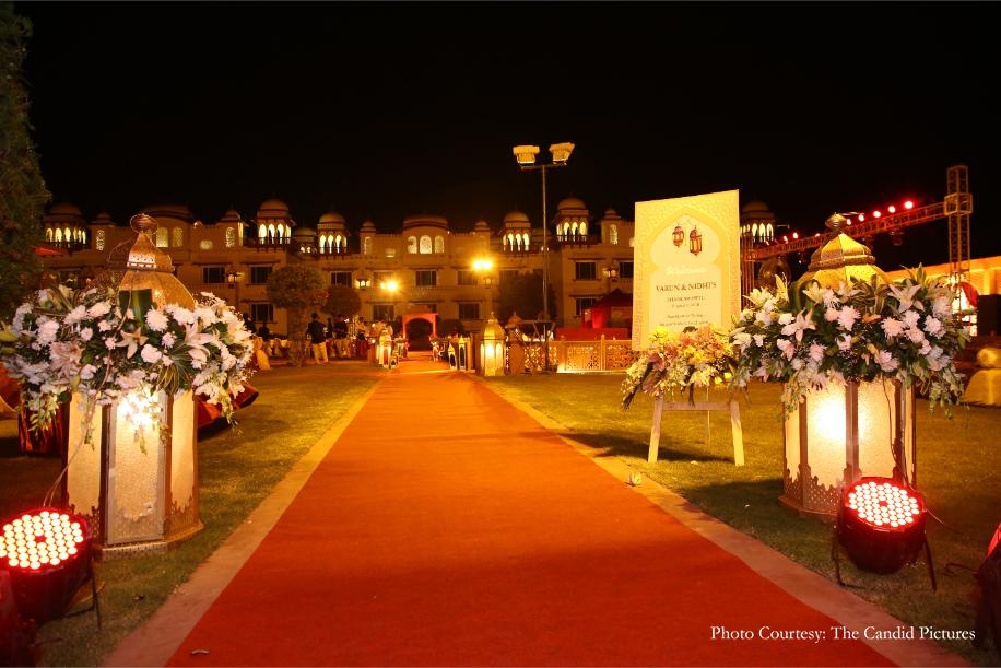 Nidhi and Varun, Jai Mahal Palace, Jaipur
