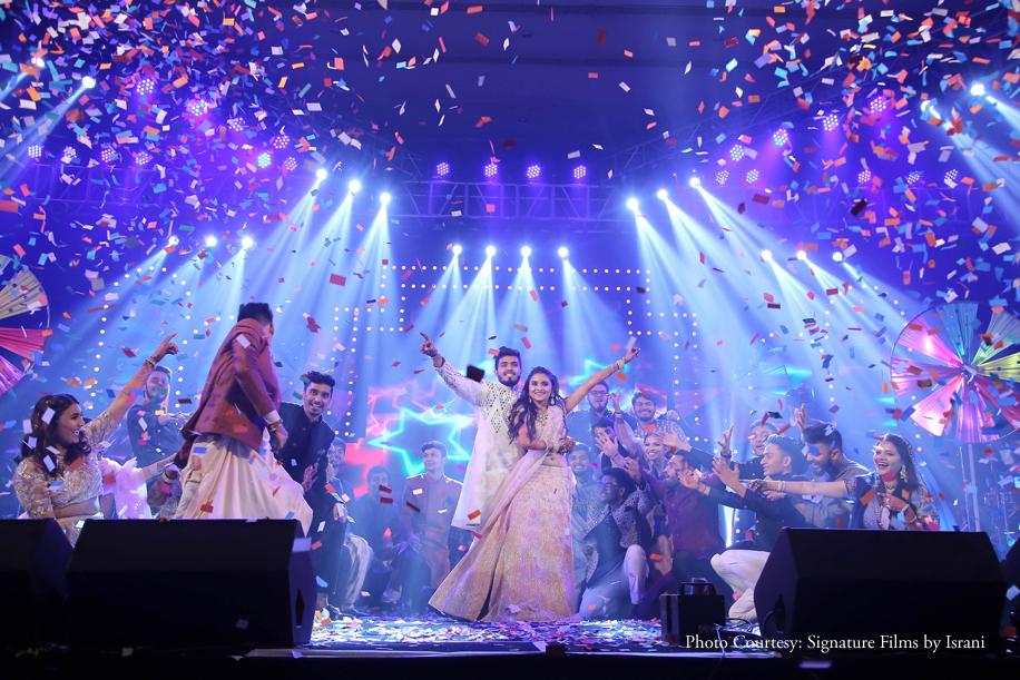 Palak and Bhavik, Dome at NSCI, Mumbai