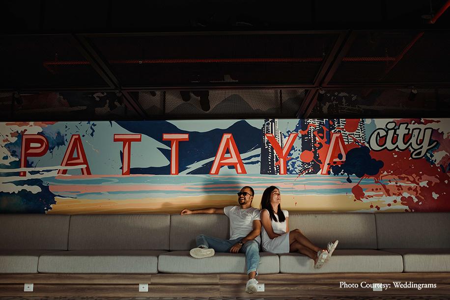 Ankita and Samarth,Centara Grand Mirage Beach Resort, Thailand