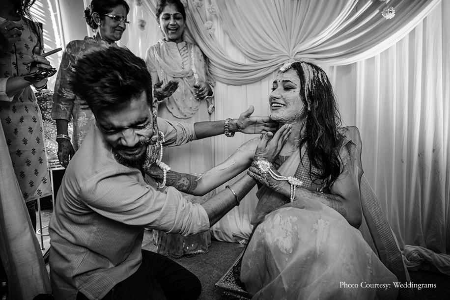 Bride Haldi