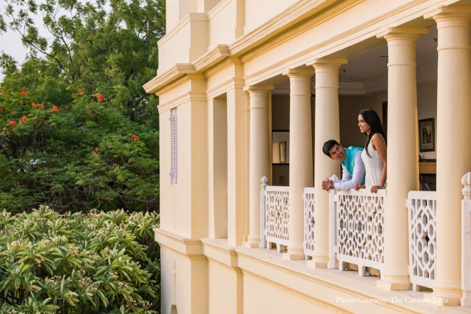 Shashwata and Chetan, The Leela Palace Udaipur