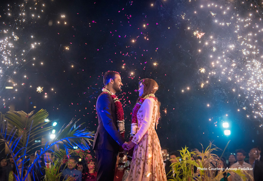 Shreya and Chiran, Khanvel Resort, Silvassa