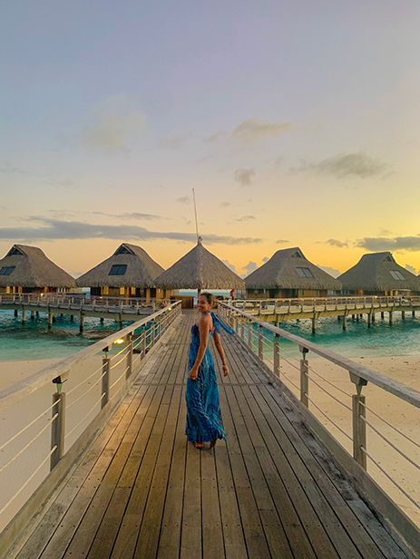 Disha and Shil, Bora Bora and Moorea