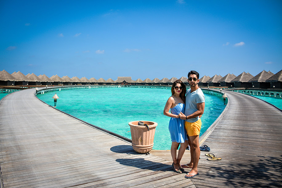 Henna and Udit, Maldives