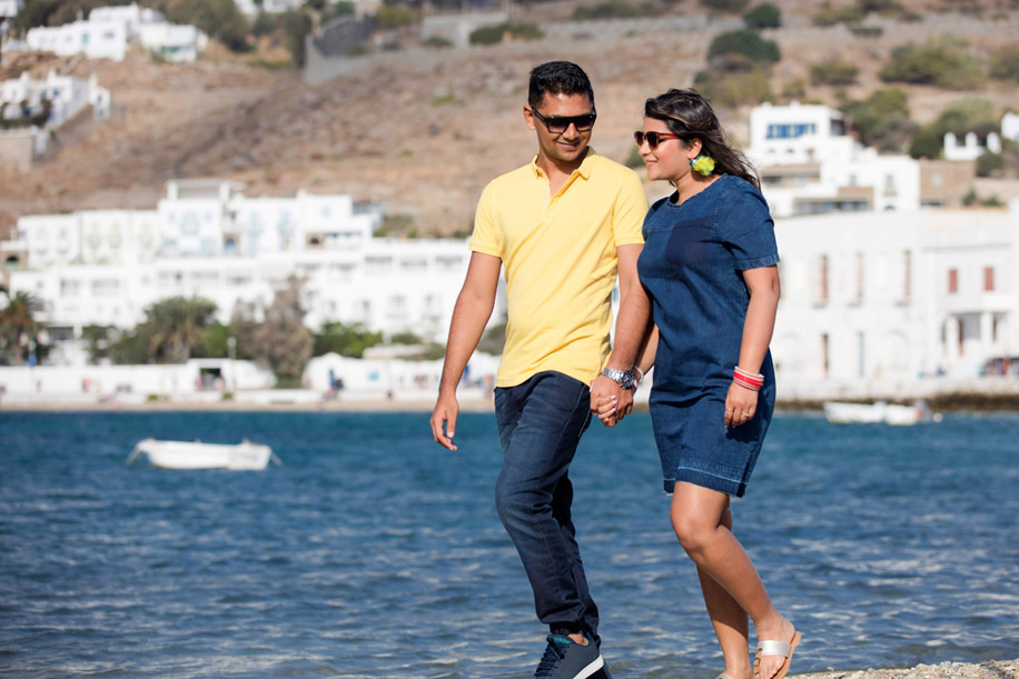 Niharika and Rohit, Greece and Italy