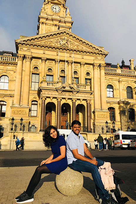 Pooja and Kaushal, South Africa