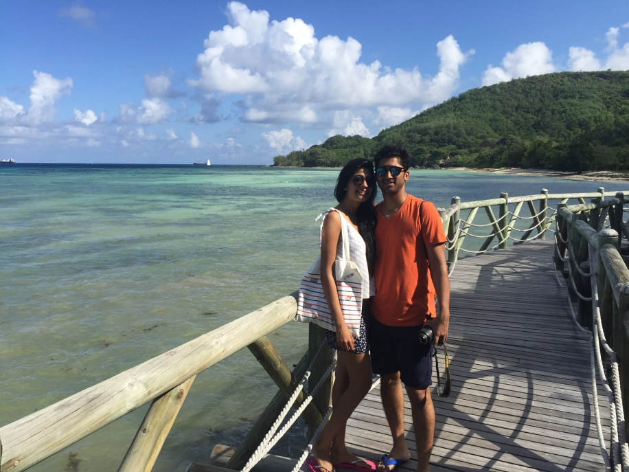 Priti and Aditya's Honeymoon in Seychelles