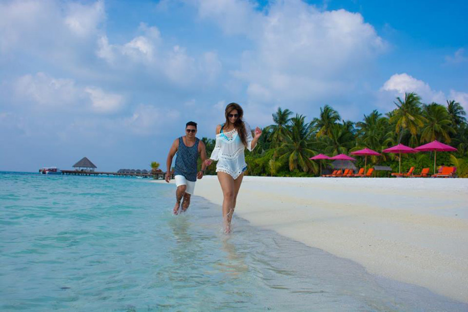 Sanaya and Karan, Maldives and Dubai, UAE