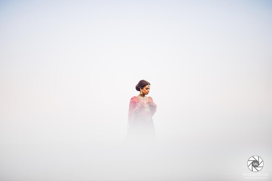 Bridal Portrait by Shutterdown - WeddingSutra Photography Awards 2018