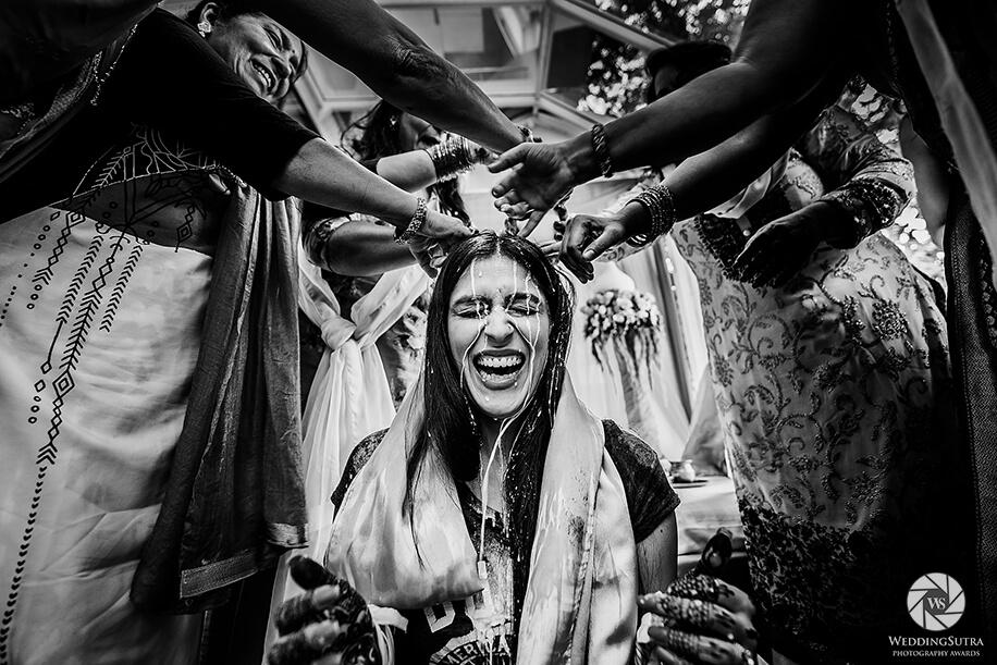 Bridal Portrait by Nikhil Shastri - WeddingSutra Photography Awards 2018