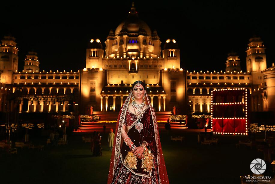 Bridal Portrait by Ram Bherwani - WeddingSutra Photography Awards 2018